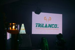 Trilanco wanted a custom cake for their massive event, what better way than with our projection cake with custom graphics made just for them.